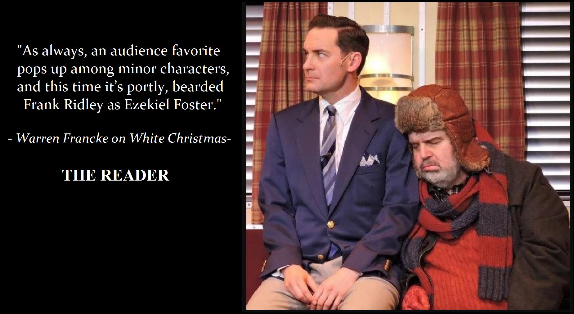 Frank Ridley as Ezekiel Foster in Irving Berlin's White Christmas